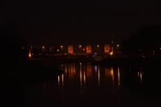 Most zamkowy nocą 1, fotografia, Tomasz Boruch, a 77, zdjęcie, modernart, rzeszów, rzeszow, podkarpackie